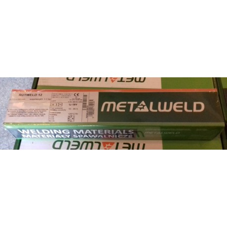 Elektroda Rutweld fi 2,5/350 4 kg