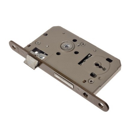Zamek drzwiowy wpuszczany na klucz 90/50mm