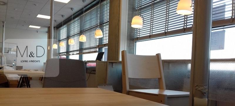 Ikea Lublin, montaż żaluzji drewnianych mid.info.pl