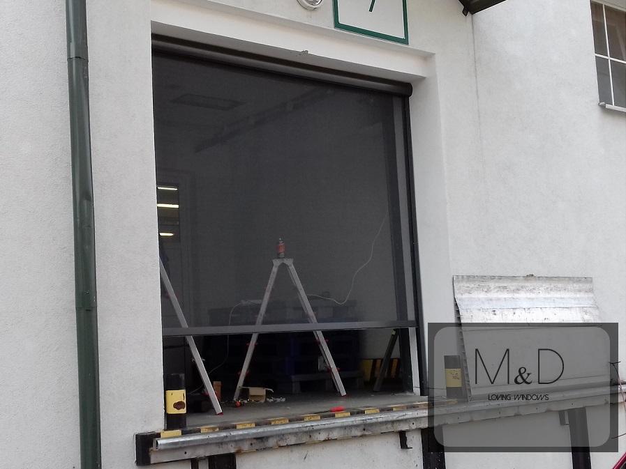 Moskitiera rolowana montaż wrotków Lublin firma Herbapol S.A.