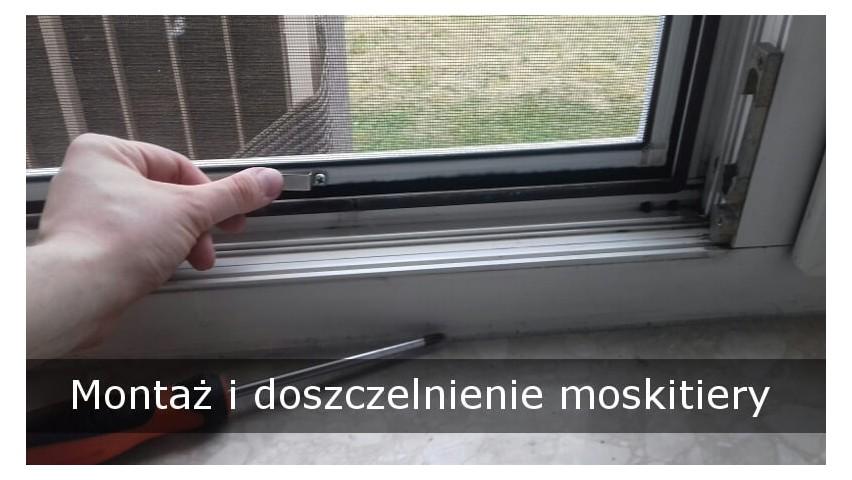 Jak uszczelnić i zamontować moskitierę?
