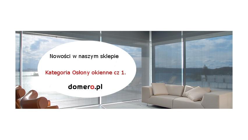 Artykuł z kategorii elementy do żaluzji i rolet w domero,pl