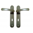 Klamka zielona długi szyld 72 klucz
