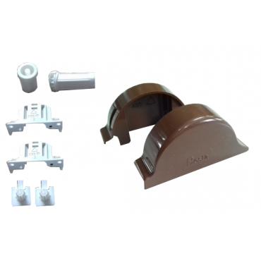 Mechanizm do rolety w kasecie kolor jasny braz