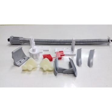 Mechanizm do rolety dachowej wąska prowadnica