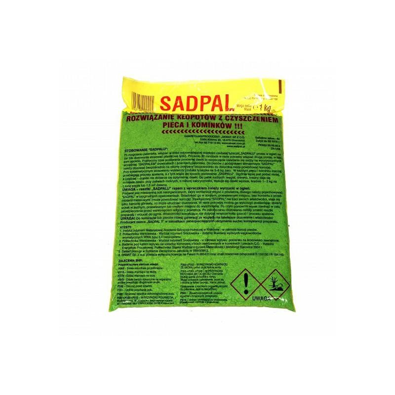 Rewelacyjny Sadpal, katalizator do usuwania sadzy z komina • domero.pl CH49